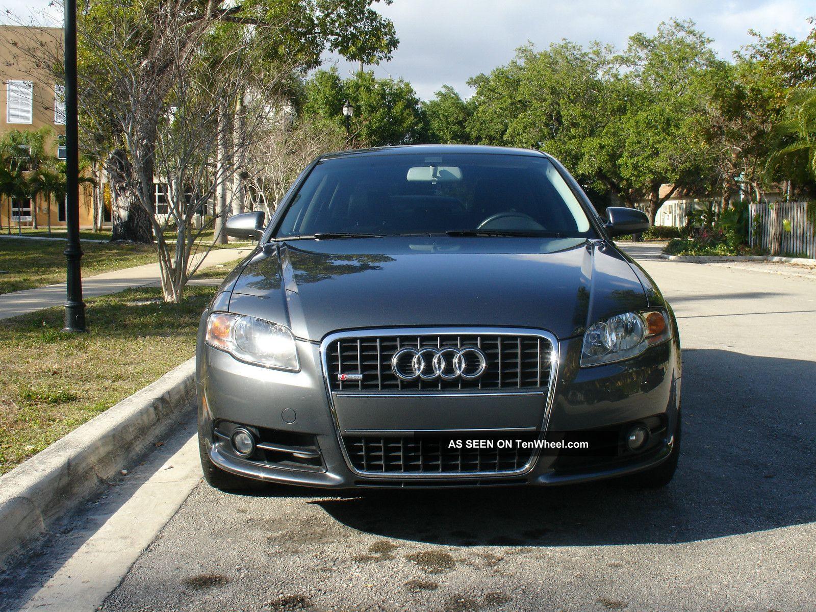 2008 Audi A4 Sedan 4 - Door 2.  0l S - Line - Automatic A4 photo