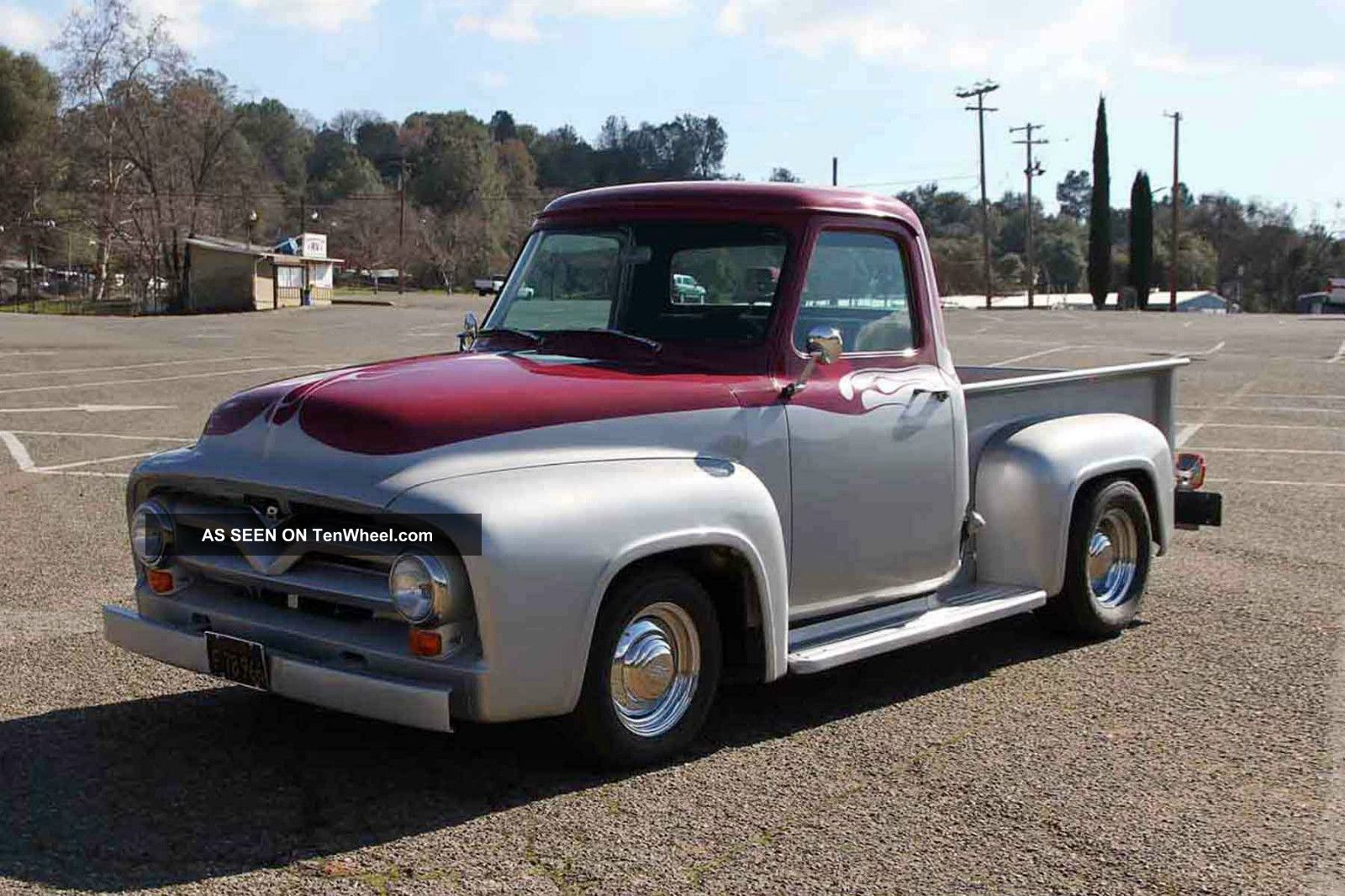 All Steel 1955 F100 Streetrod Pickup Truck 351 / C4 Posi ...