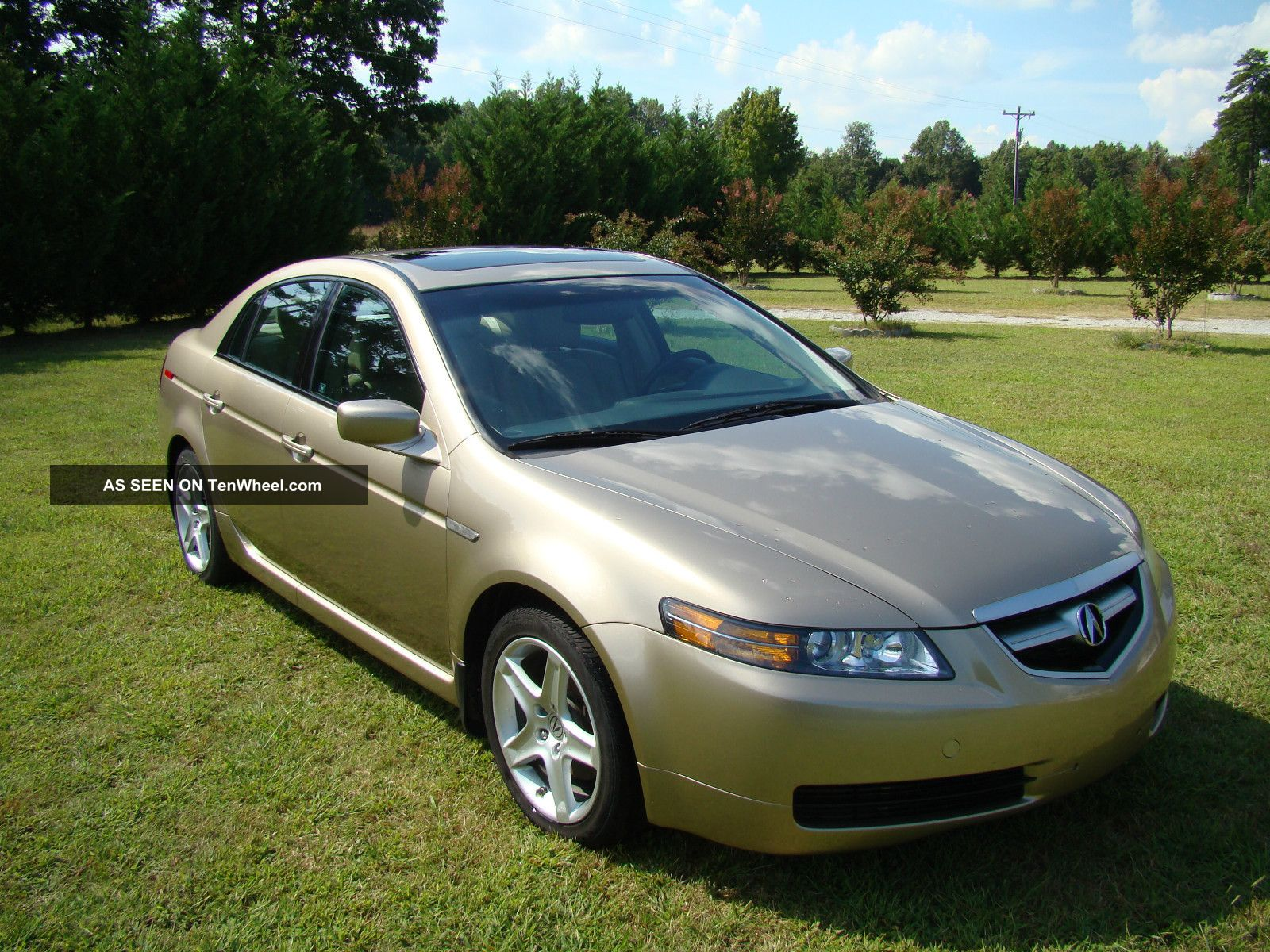 2006 Acura Tl Base Sedan 4 Door 3 2 6 Cylinders