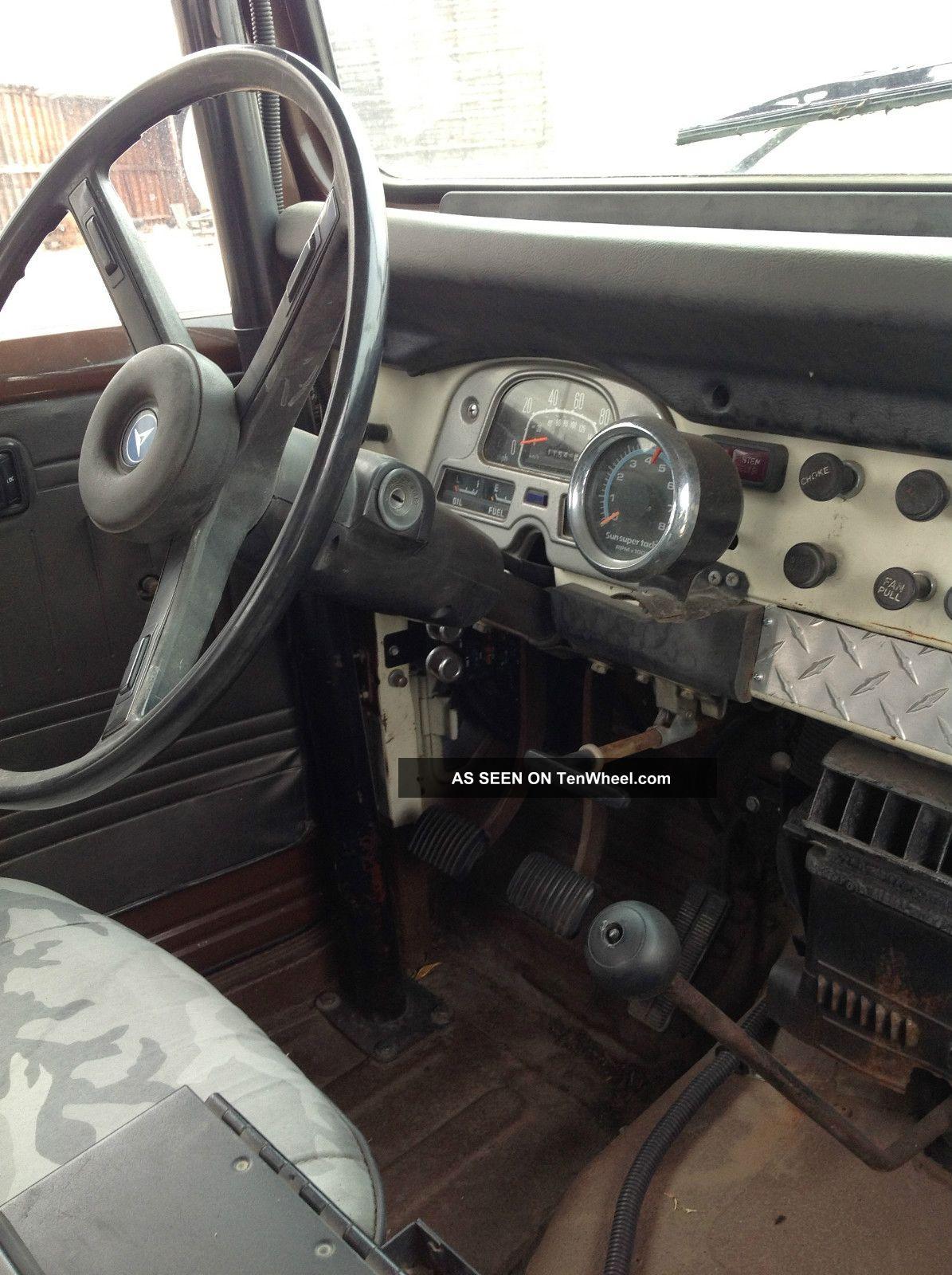 1978 Toyota Land Cruiser Fj40 W / Chevy 350 V - 8 Conversion