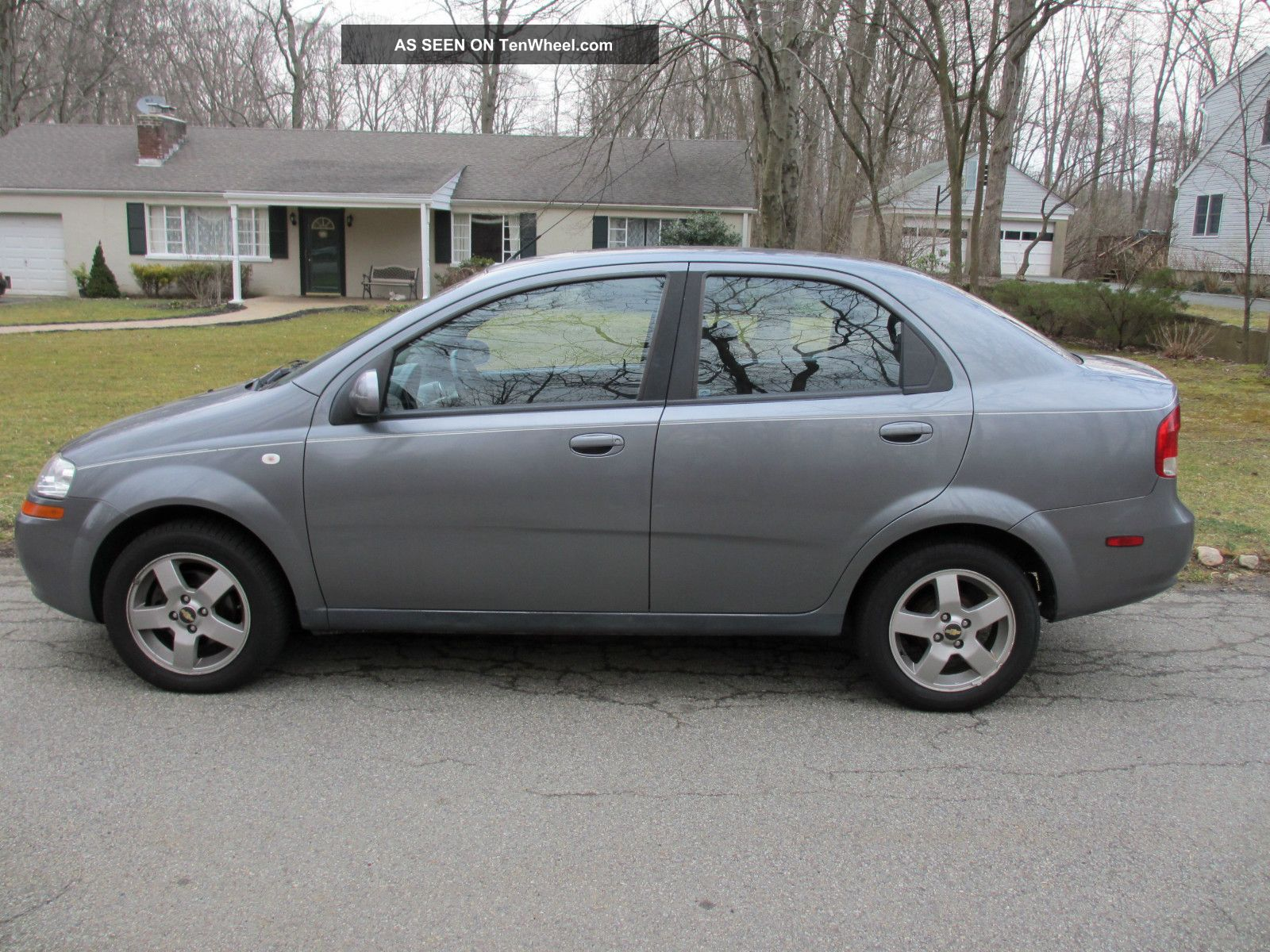 2006 Chevrolet Aveo Lt Sedan 4 Door 1 6l