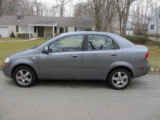 2006 Chevrolet Aveo Lt Sedan 4 - Door 1.  6l photo