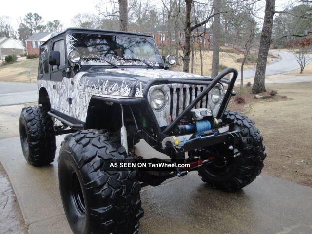 jeep wrangler rock crawler  gm ramjet intake