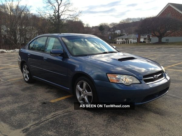 2006 subaru legacy gt sedan 4 door 2 5 turbocharged. Black Bedroom Furniture Sets. Home Design Ideas