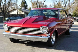 Custom 1964 Chevy Nova Ss Supersport Coupe Streetrod 350 / 350 Mustang Ii photo