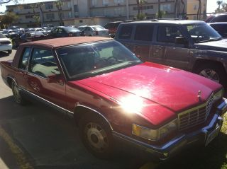 1991 Cadillac Deville Spring Edition -,  Transmission Needs Work photo