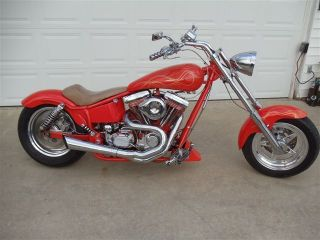 2004 Custom Built Softtail Chopper photo