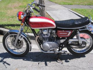 1972 Yamaha Xs 650 photo