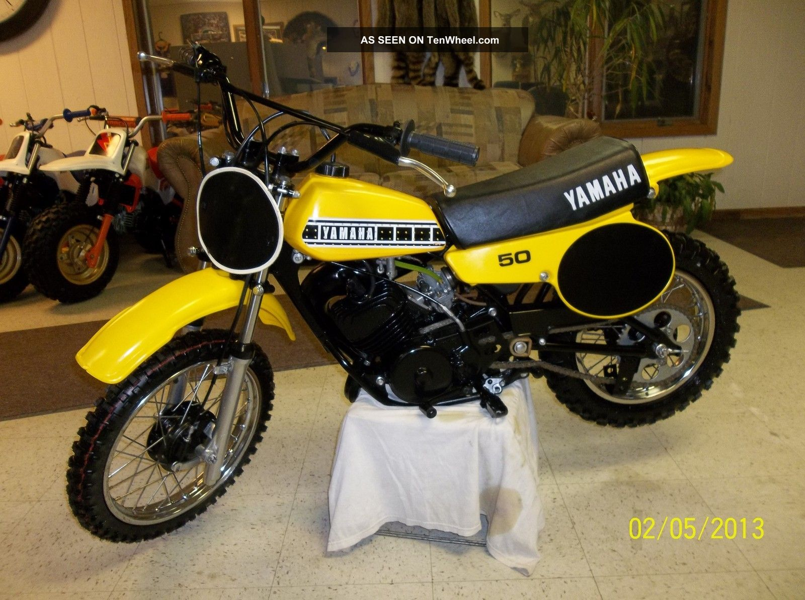 1980 Yamaha Yz50 Yz 50 Yz Ahrma Vintage Mx Motocross Xr 50 Enduro Race Minibike YZ photo