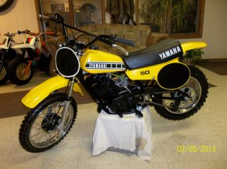 1980 Yamaha Yz50 Yz 50 Yz Ahrma Vintage Mx Motocross Xr 50 Enduro Race Minibike photo