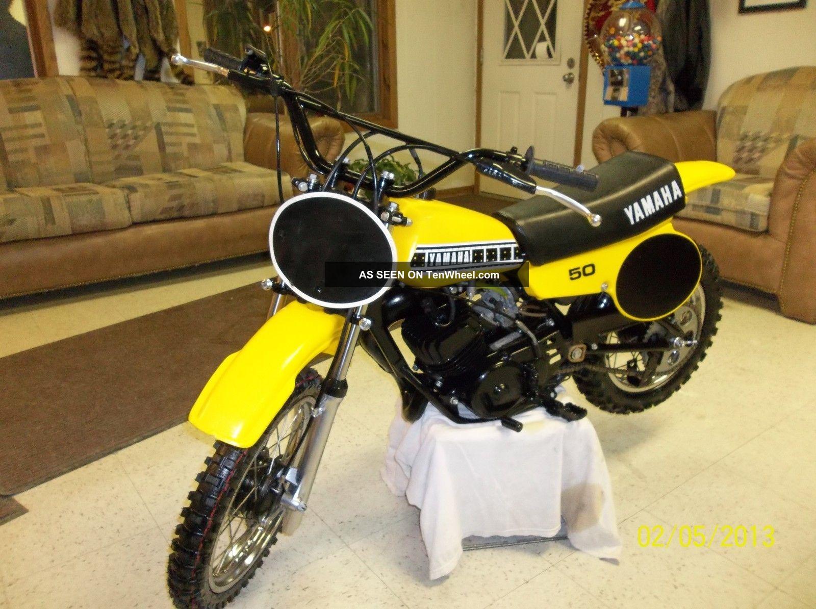 1980 Yamaha Yz50 Yz 50 Yz Ahrma Vintage Mx Motocross Xr 50 Enduro Race Minibike