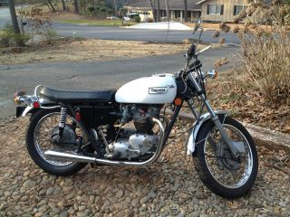 1971 Triumph Bonneville T120r photo