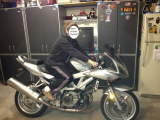 2003 Suzuki Sv650s,  Silver. . .  With Extras photo