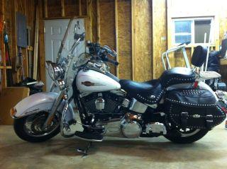 2008 Harley - Davidson Flstc Heritage Softail Classic photo