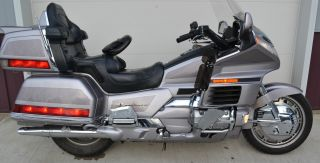 1998 Gl1500se Honda Gold Wing Se Silver photo