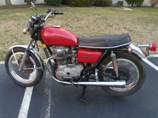 1974 Yamaha Tx650 photo