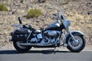2003 Harley Davidson Softail Heritage Classic Flstci photo