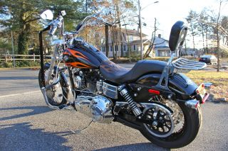 2010 H - D Fxdwg Dyna Wide Glide - Over $10k In Accessories - Ghost Rider photo