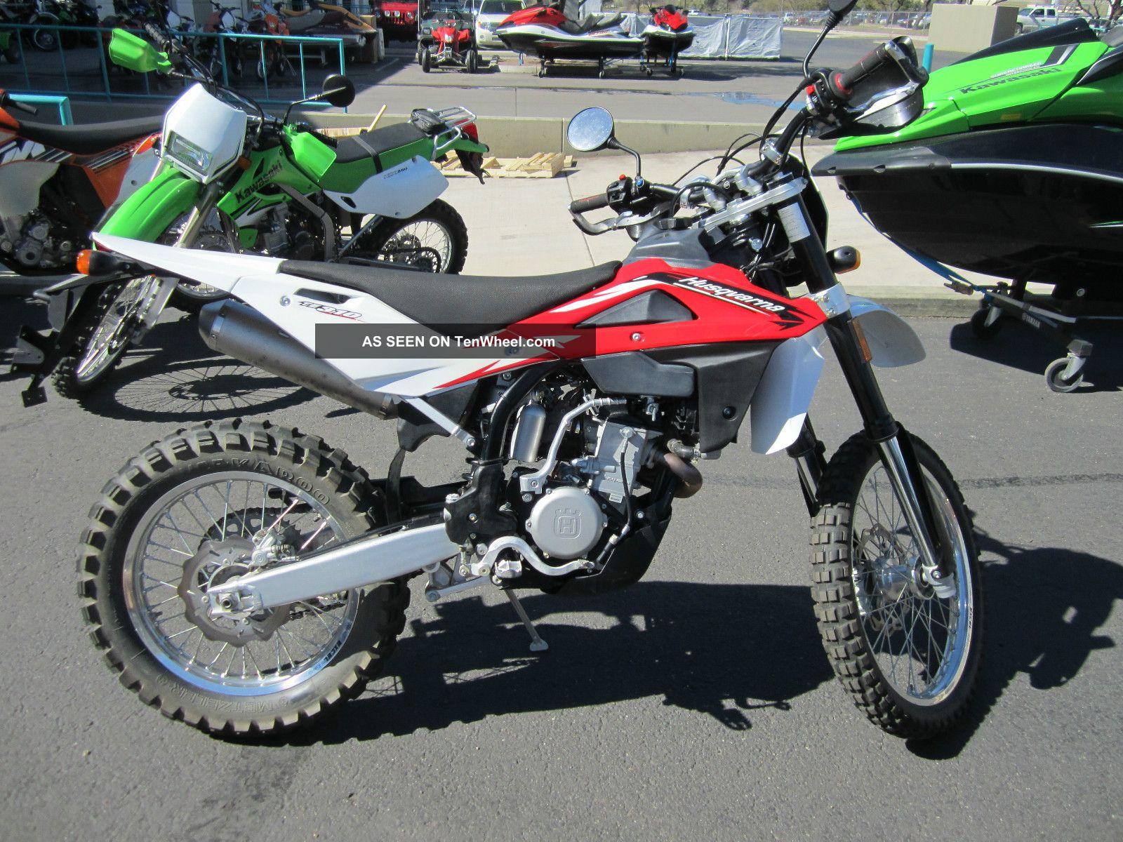 2012 Husqvarna Te 310 Dualsport Motorcycle Demo Model $8199 Now $4999 Nr Husqvarna photo