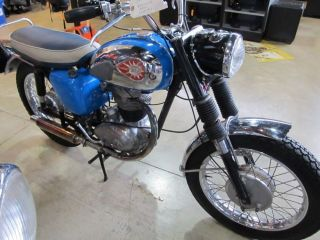 1963 Bsa 350 Single photo