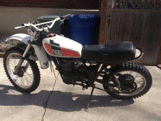 1976 Yamaha Xt500 Tt500 Xt Tt 500 Vintage Ahrma Dirt Enduro Motorcycle Bike Ship photo