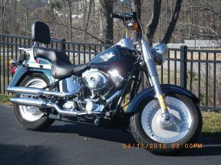 2001 Harley Davidson Flstf Fatboy photo
