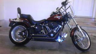 2008 Harley Davidson Softail Night Train With Many Extra ' S Custom photo