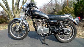 1978 Yamaha Sr 500 E Rare Antique photo