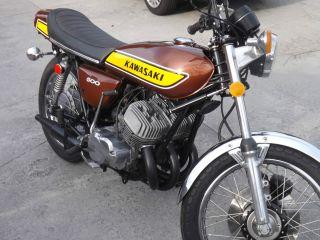 1975 Kawasaki H1 500 photo