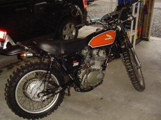1975 Honda Xl 250 photo