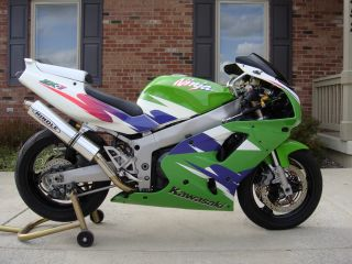 1995 Kawasaki Zx - 7 Zxr750 Green Meanie Zx7 The Real Deal photo