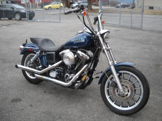 1998 Harley Davidson Fxdl Lowrider 1340 Last Year Evo Bike Harley Paint photo
