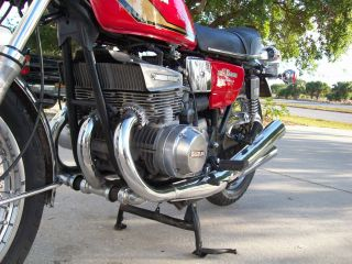 1974 Suzuki Gt550 Rider Runner And Ready 2 Stroke Triple Not H1 photo
