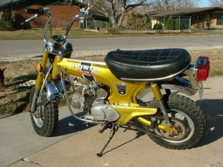 1972 Honda Ct 70 H 4 Spd.  Clutch photo