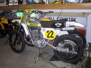 Maico 1978 440 Mx Vintage Moto X Museum Collector photo