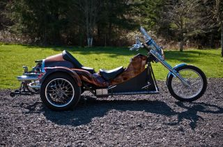 2009 California Custom Trike Custom Paint Low Mi Better Then photo
