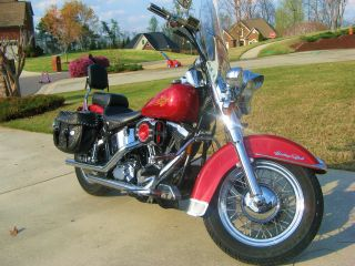1993 Harley Heritage Softail Classic Flstc photo