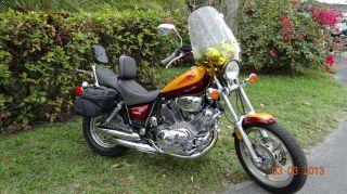 Yamaha Virago Xv1100 1995 Model.  This Total Beauty. photo