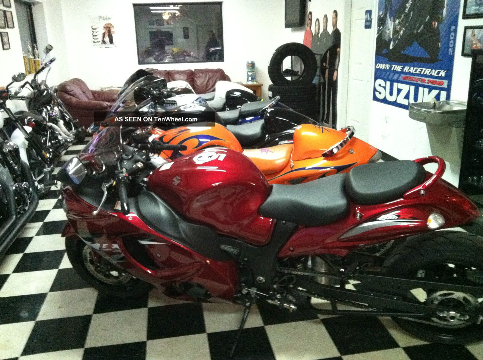 2012 Suzuki Hayabusa Limited Edition With To 2017 154 Out Of 583 Hayabusa photo