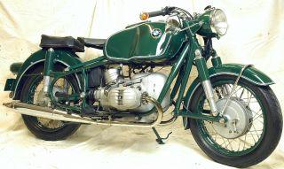 Vintage1965 Bmw R50 / 2 Polizei photo