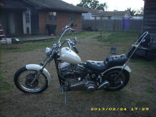 1959 Harley Davidson Panhead Chopper photo
