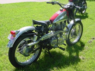 Enfield 2000 Scrambler photo