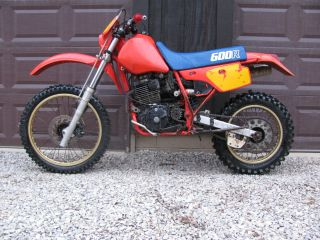 1986 Honda Xr 600 Xr600 Xr600r Ohio photo