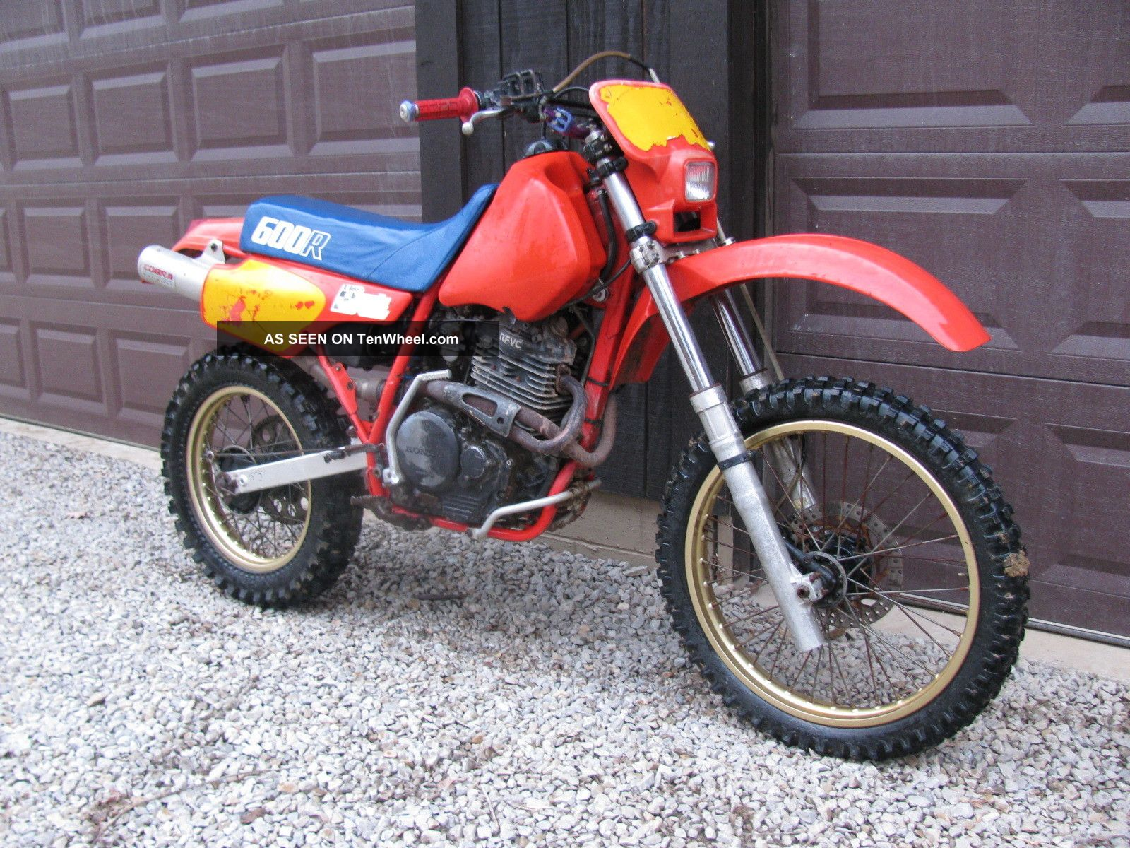 1986 honda xr 600 xr600 xr600r ohio. Black Bedroom Furniture Sets. Home Design Ideas