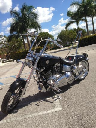 2009 Harley Davidson Fxcwc Rocker C Softail photo