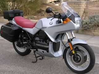 1995 Bmw K75s,  3,  800mi. ,  Abs,  All Hardbags,  Owner &shop Books,  Exceptional Condition photo