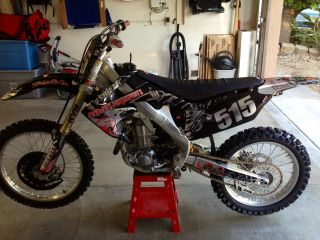 2011 Honda Crf450 - Many Extras - photo