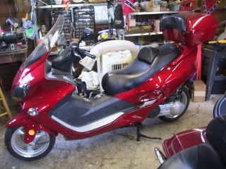 2011 Jonway 250cc Motorscooter photo
