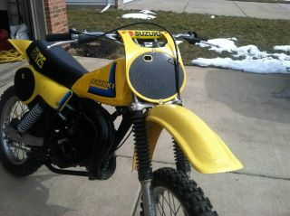1979 Suzuki Rm125 Ahrma,  Top End, , photo