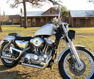 Harley Davidson Sportster 1200 1995 Custom Bike, , , photo
